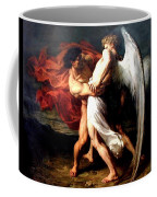 Jacob Wrestling With The Angel Coffee Mug