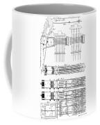 Jacquard Card For Silk Weaving Coffee Mug