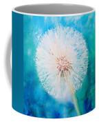 Jade Dandelion Coffee Mug