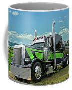 Jade Transport Peterbilt Coffee Mug