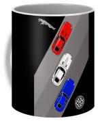 Jaguar E-type - 3 Times The Fun Coffee Mug
