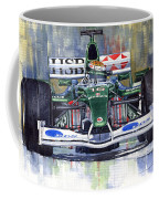 Jaguar R3 Cosworth F1 2002 Eddie Irvine Coffee Mug