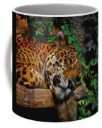 Jaguar Relaxing Coffee Mug