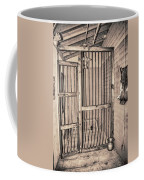 Jail House Interior Coffee Mug