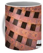 Rusty Jailhouse Door Coffee Mug