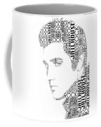 Jailhouse Rock Elvis Wordart Coffee Mug