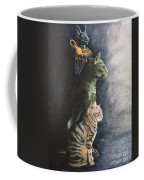Jake And The Ancestors-pet Portrait Coffee Mug