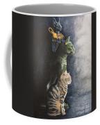 Jake And The Ancestors-pet Portrait Coffee Mug