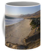 Jalama Campground And Beach. Pacific Coffee Mug by Rich Reid