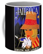 Jamaica, Woman With Orange Hat Coffee Mug