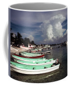 Jamaican Fishing Boats Coffee Mug