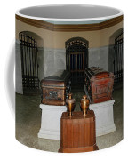 James A. Garfield Coffin Coffee Mug