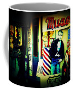 James Dean On Route 66 Coffee Mug by Susanne Van Hulst