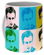 James Dean Pop Art Coffee Mug