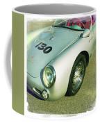 James Dean Porsche Spyder 550 Coffee Mug