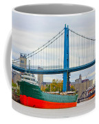 James M Schoonmaker And The Anthony Wayne Bridge Coffee Mug