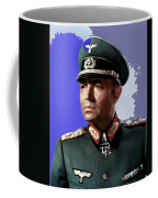 James Mason As Erwin Rommel Publicity Photo The Desert Fox 1951 Color Added 2016 Coffee Mug