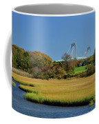 Jamestown Marsh With Pell Bridge Coffee Mug