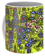 Janca Abstract # 6731eac1 Coffee Mug