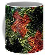 Janca Abstract Panel #5473w3 Coffee Mug