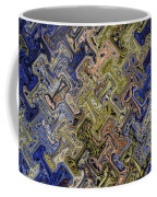 Janca Color Panel Abstract #5687 Et1b Coffee Mug