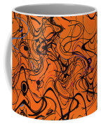 Janca Red Power Tower Abstract Coffee Mug