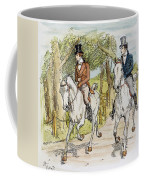 Jane Austen: Illustration Coffee Mug