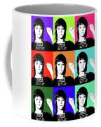 Jane Fonda Mug Shot X9 Coffee Mug