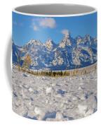January At The Tetons Coffee Mug
