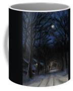 January Moon Coffee Mug