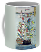 Japan: Dutch Ship Coffee Mug