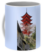 Japan Itsukushima Temple Coffee Mug