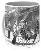Japan: Rickshaw, 1874 Coffee Mug by Granger