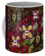 Japanese Butterflies In Modern Style Coffee Mug