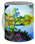 Japanese Garden In Spring Coffee Mug