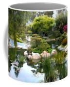 Japanese Garden Panorama 2 Coffee Mug