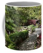 Japanese Garden Path With Azaleas Coffee Mug