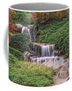 Japanese Gardens Waterfall Coffee Mug