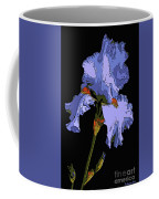 Japanese Iris-blue Beauty Coffee Mug