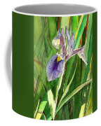 Japanese Iris Coffee Mug