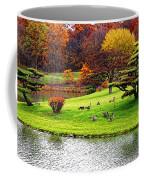 Japanese Island Fall Colors Coffee Mug