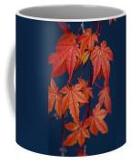 Japanese Maple Leaves In Autumn Coffee Mug