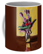 Jar With Tulips Coffee Mug