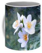 Jasmin Flower Coffee Mug