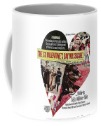 Jason Robards As Al Capone Theatrical Poster The St. Valentines Day Massacre 1967  Coffee Mug