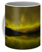 Jasper National Park Dark Sky Show Coffee Mug