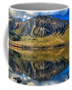 Jasper Pyramid Lake Reflections Coffee Mug