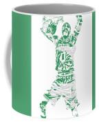 Jayson Tatum Boston Celtics Pixel Art 11 Coffee Mug