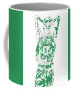 Jayson Tatum Boston Celtics Pixel Art 12 Coffee Mug