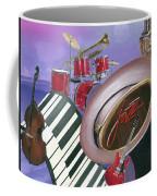 Jazz At Sunset Coffee Mug